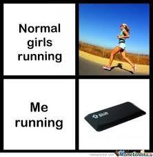 Meme Running - normal running bi ch pleas by big massive homo meme center