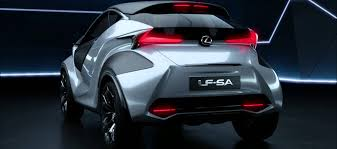 new lexus electric car the new lexus lf sa concept youtube