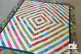 quilt pattern round and round piece n quilt merry go round a fun jelly roll quilt