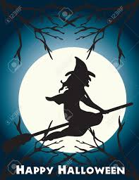 halloween flying witch background witch on broom images u0026 stock pictures royalty free witch on