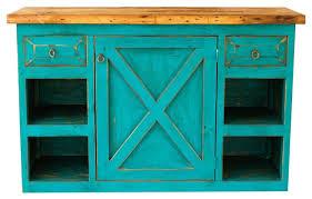 Turquoise Vanity Table Open Sky Farmhouse Vanity Turquoise 60