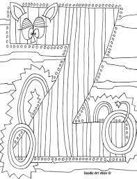 letter coloring pages doodle art alley printables pinterest