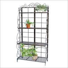 furniture magnificent small bakers rack fresh wine rack inserts