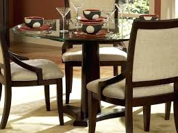 Glass Top Pedestal Dining Tables 60 Round Glass Top Pedestal Dining Table Tables Unique And