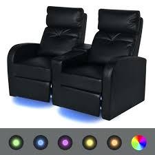 chaise de cinéma fauteuil de cinema pas cher a led 2 places chaise de cinema