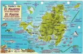 map of st martin st maarten st martin dive map reef creatures guide franko