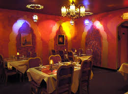 Indian Restaurant Interior Design by Saffron Indian Restaurant