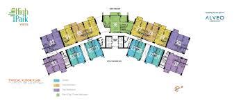 North Park Residences Floor Plan Alveo Condo Quezon City Condo For Sale High Park