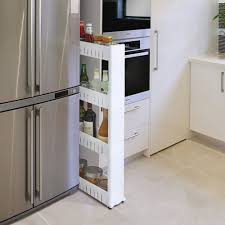 Kitchen Space Saver Ideas by Slim Slide Out Bathroom Laundry Kitchen Space Saver Storage Tower
