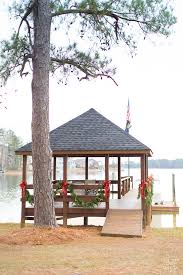 Outdoor Decorating Ideas by Outdoor Christmas Decorating On The Gazebo In My Own Style