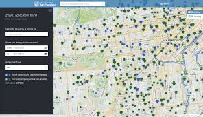 San Francisco Parking Permit Map by Buildingeye Department Of Building Inspection