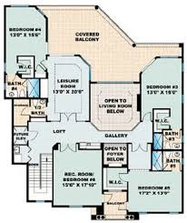 Mediterranean Style House Plans by Mediterranean Style House Plan 6 Beds 5 50 Baths 5680 Sq Ft Plan