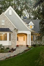 dream houses shingled stone steps stone and grey houses