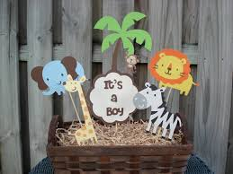 Centerpiece For Baby Shower by Baby Shower Decorations For Jungle Theme Baby Shower Favors Jungle