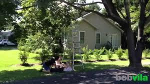 diy kids build a backyard tree swing youtube