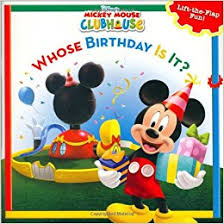 mickey mouse birthday mickey mouse clubhouse whose birthday is it disney s