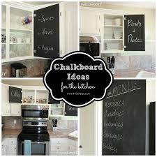 kitchen chalkboard ideas livelovediy 10 home improvement ideas how to make the most of