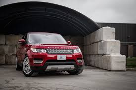 red land rover review 2017 range rover sport hse td6 canadian auto review