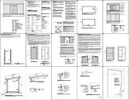 free 8 x 16 shed plans construct your own shed by means of free