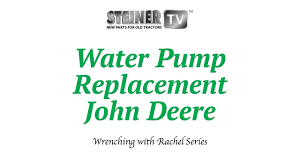 water pump replacement youtube