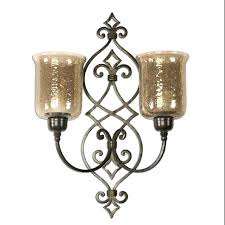 Glass Wall Sconce Candle Holder Sconce Hurricane Wall Sconce Candle Holder Uk Hurricane Wall