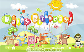 Happy Birthday Wishes For Wall Birthday Wallpapers For Kids
