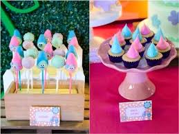 kara u0027s party ideas colorful trolls birthday party kara u0027s party ideas