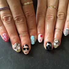 nails 3 40 photos nail salons matthews nc reviews flip side manis louboutin red 5 trends for nails daily mail online