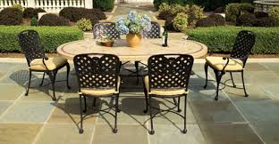 Cast Aluminium Outdoor Furniture by Aluminum Patio Furniture Sets Outdoorlivingdecor