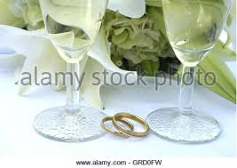 glass wedding rings wedding rings glass wine two marriage feelings wine