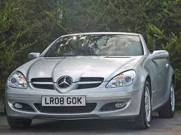 used mercedes convertible used iridium silver metallic mercedes slkfor sale dorset