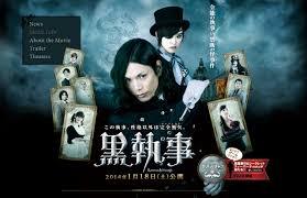 film laga jepang terbaru live action kuroshitsuji menduduki posisi ke 4 box office jepang