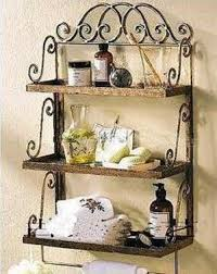 Decorative Wall Shelves For Bathroom Decorative Metal Wall Bathroom Wrought Iron Wall Rack
