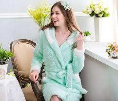 robes de chambre grandes tailles capuche mignon peignoir flanelle molleton grande taille chaud épais