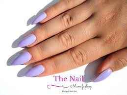 light purple fake nails glossy false nails available as