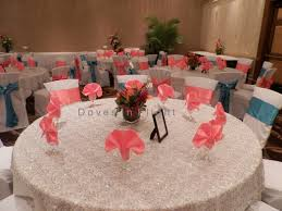 silver lace table overlay table decorations iii