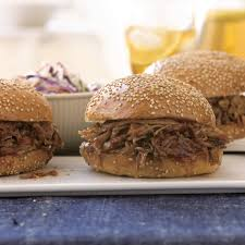 slow cooked pulled pork sandwiches recipe epicurious com