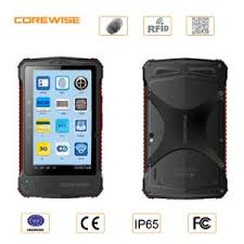 china rugged android tablet pc portable fingerprint scanner