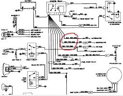 jeep yj alternator wiring diagram jeep schematics and wiring