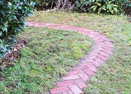 home depot path rustic simplicity diy herringbone garden path garden club