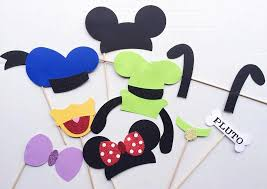 mickey mouse photo booth disney photo booth props mickey mouse and friends photo booth