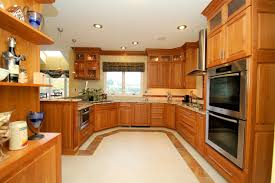 Natural Cherry Shaker Kitchen Cabinets Kitchen Remodeling Contractor Custom Kitchen U0026 Bathroom Cabinets