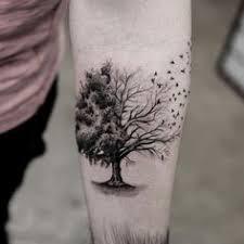 chest tree of design design of tattoos