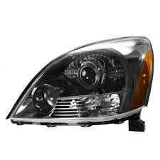 lexus gx470 aftermarket accessories headlight headlamp smoked lh left driver side for 03 09 lexus