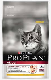 chicken dry cat food with optirenal purina pro plan