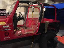 pink jeep interior bedliner the interior of your tj jeep wrangler tj forum