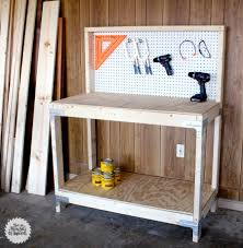How To Build This Diy Workbench by Diy Workbench With Simpson Strong Tie Workbench Kit