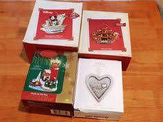 4 collectible hallmark ornaments 20 00766 clock