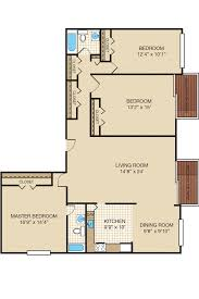 3 floor plan three bedroom apartment u0026 townhome floor plans portabello