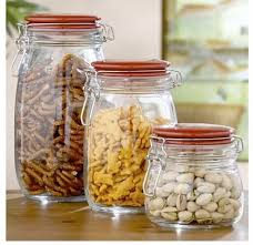 clear kitchen canisters clear glass canisters for snacks pretty glass kitchen canisters